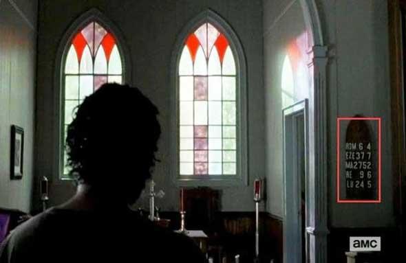 A igreja vira abrigo em 'The Walking Dead'