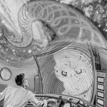 Arte de divulgação da estreia da série, episódio 'The Galaxy Being'
