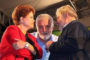 Trio Dilma Wagner Lula