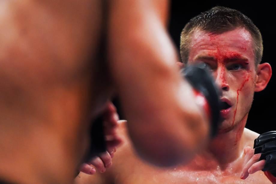 Thales Leites enfrenta Krzysztof Jotko, na terceira luta do card principal do UFC Fight Night, realizado no Ginásio do Ibirapuera, em São Paulo(SP) - 20/11/2016
