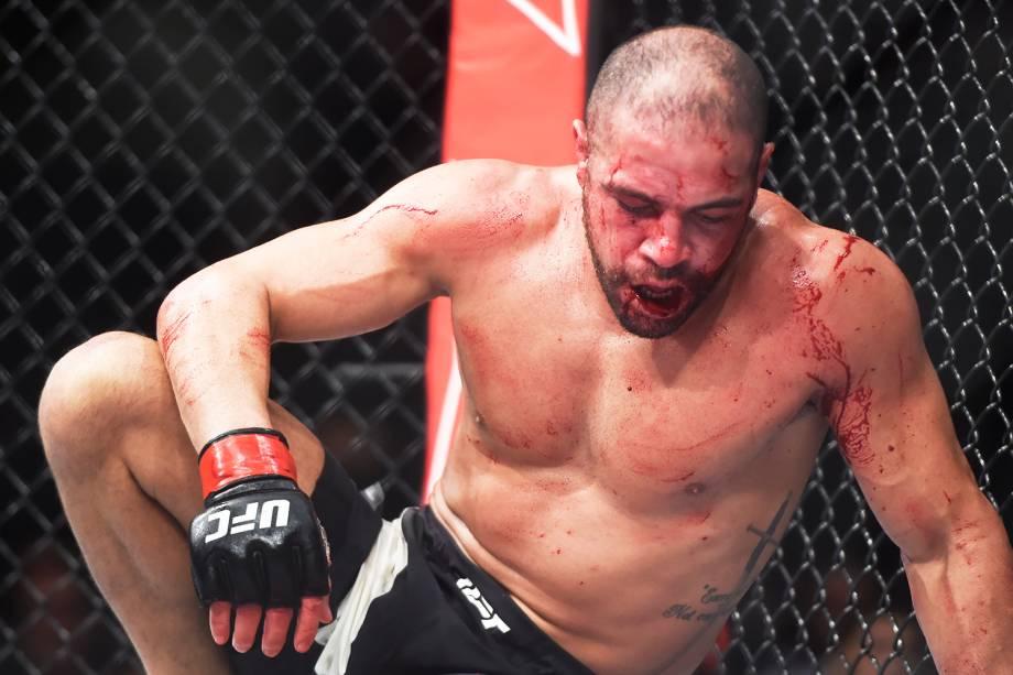 Thales Leites é derrotado por Krzysztof Jotko, na terceira luta do card principal do UFC Fight Night, realizado no Ginásio do Ibirapuera, em São Paulo(SP) - 20/11/2016