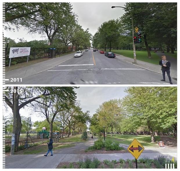 Caminhada se torna mais tranquila em Montreal, no Canadá