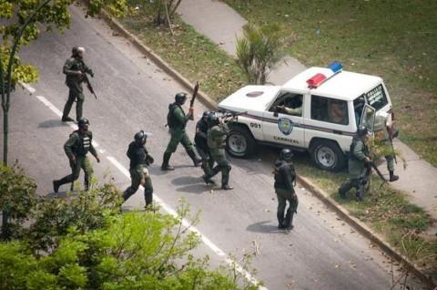 Venezuela 3 - Soldados Prefeitura Carrizal (estado de Miranda)