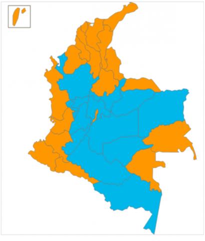votação colômbia