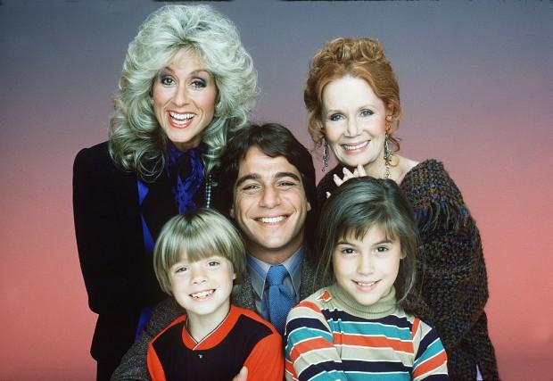Elenco de 'Who's the Boss?', produzida entre 1984 e 1992. (Foto:  Bob D'Amico/ABC/Arquivo)