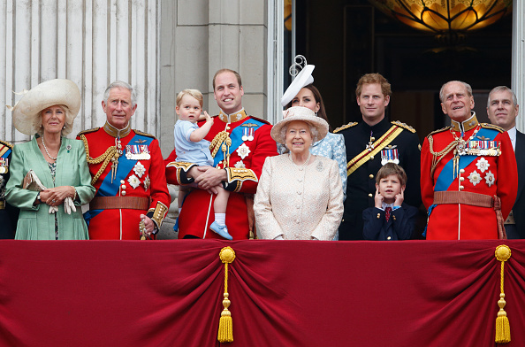 A família real britânica (Foto: Max Mumby/Indigo/Getty)