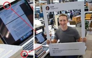 Mark Zuckerberg utiliza fita para cobrir a câmera de seu laptop