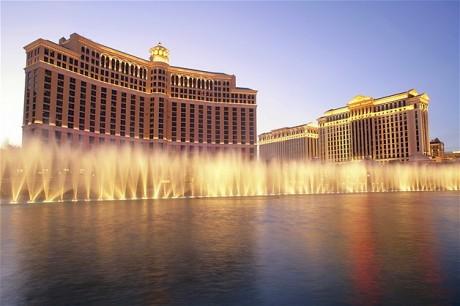 Os luxuosos Bellagio e Caesars Palaces, em Las Vegas, foram cenário para grandes blockbusters, como 'Onze Homens e Um Segredo', de Steven Soderbergh, 'Se Beber Não Case', de Todd Phillips, e 'Rain Man', de BarryLevinson.