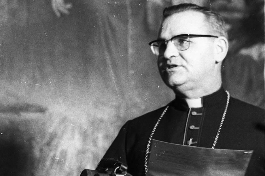 Dom Paulo Evaristo Arns (Bispo) - 21/12/1972