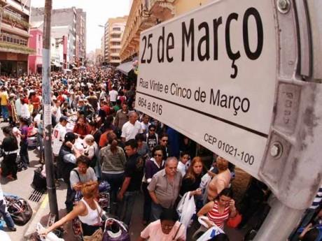 14) Nem a rua 25 de março tem tudo do melhor e do mais barato