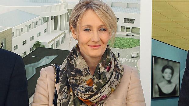 A escritora britânica JK Rowling, autora de Harry Potter (Jeff J Mitchell/Getty Images)