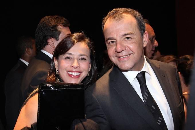 Adriana Ancelmo e o marido, Sérgio Cabral