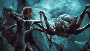Um hobbit em palpos (ou papos) de aranha