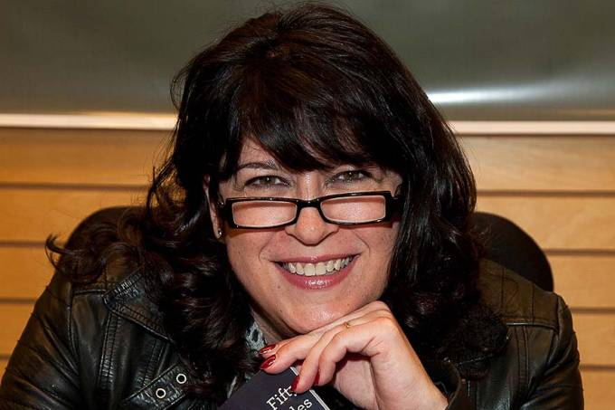 """E. L. James Signs Copies Of """"50 Shades Of Grey"""""""