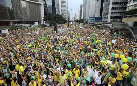 avenida paulista - 15 de março de 2015