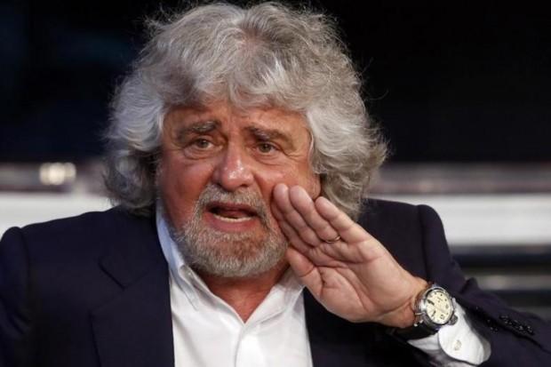 """Crítico e desbocado: seria Grillo """"o homem mais perigoso da Europa""""? (Remo Casilli/Reuters)"""