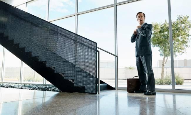 Bob Odenkirk em 'Better Call Saul' (Foto: Ben Leuner/AMC)