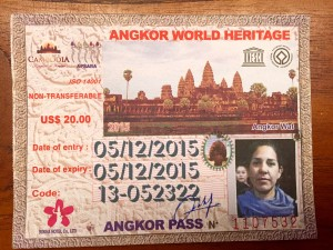"""Meu """"passaporte da alegria"""" para visitar os templos em Angkor Wat"""