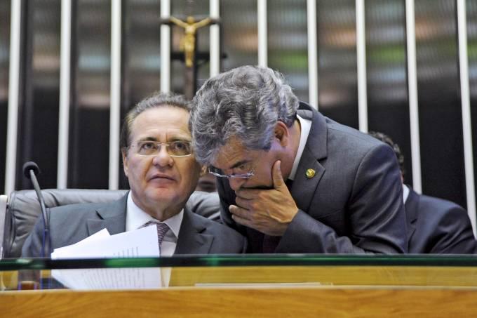 Renan Calheiros e Jorge Viana
