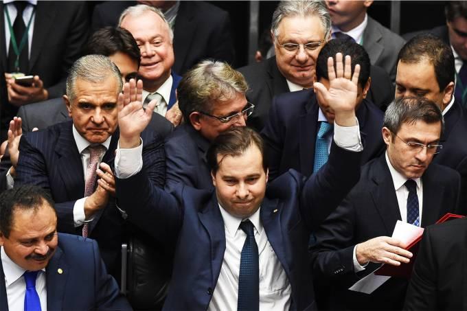 Retrospectiva 2016: Rodrigo Maia é eleito presidente da Câmara dos Deputados