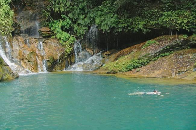 Cachoeira na Chapada das Mesas