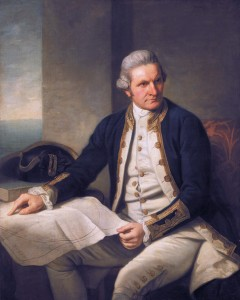 Captain James Cook (1728-1779)  *oil on canvas  *127 x 101.6 cm  *1775-1776