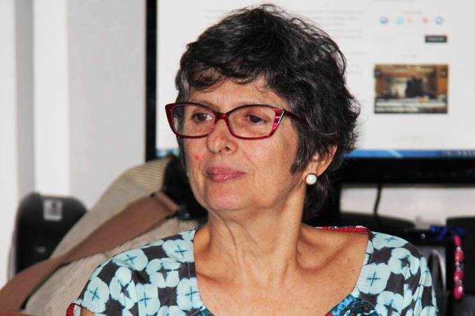 A pesquisadora Celina Turchi da Fiocruz Pernambuco