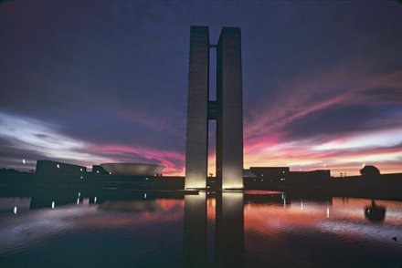 BRASILIA, PLACE DES TROIS POUVOIRS
