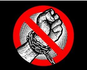 Imagem da campanha de combate ao trabalho escravo, divulgada pela Secretaria de Direitos Humanos.