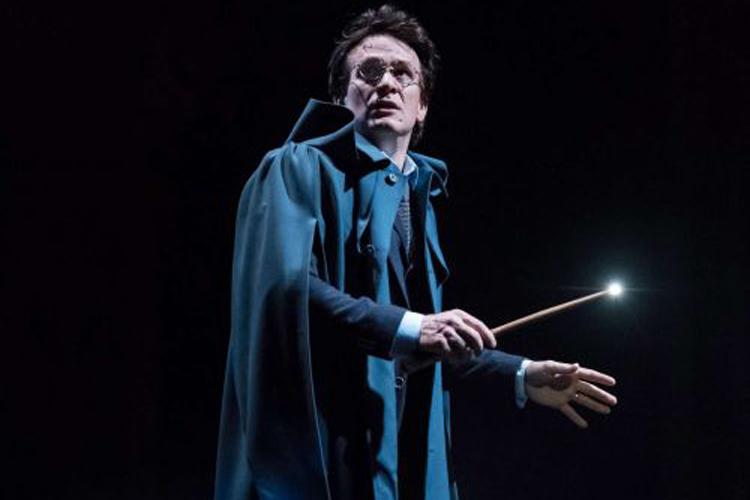 Cena da peça de teatro 'Harry Potter and the Cursed Child'