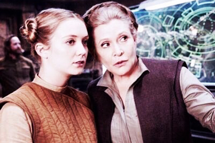 Billie Lourd, filha da atriz Carrie Fisher