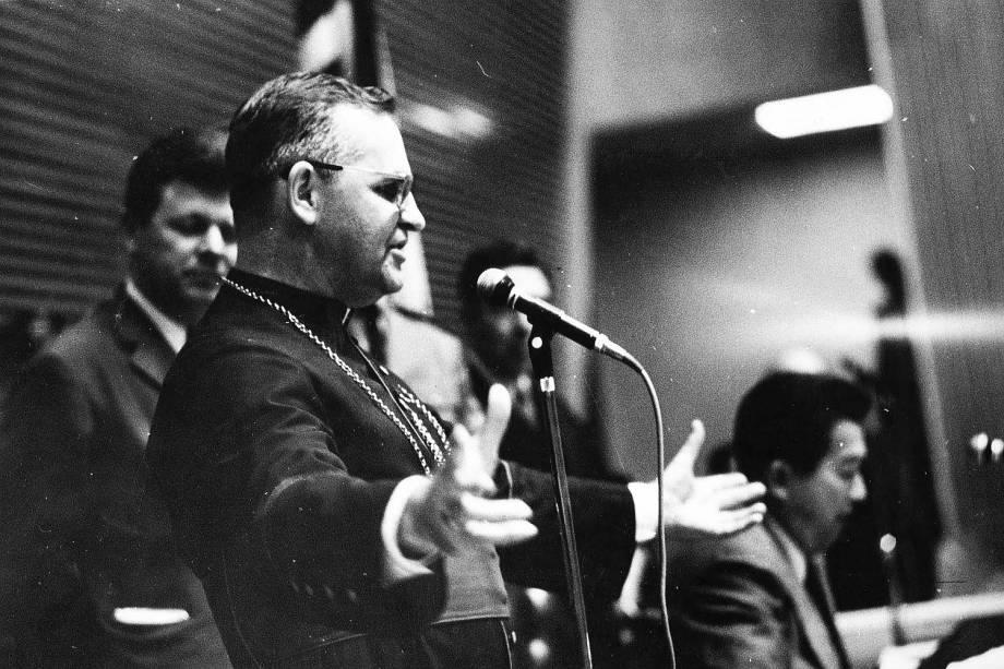 Dom Paulo Evaristo Arns - 04/11/1970