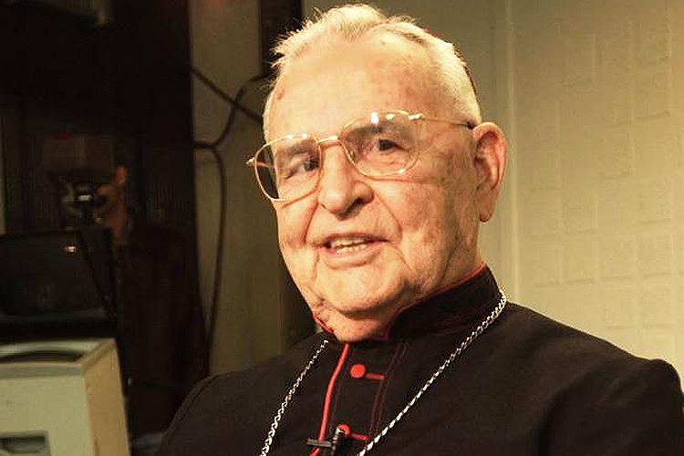 Cardeal dom Paulo Evaristo Arns, arcebispo emérito da Arquidiocese de São Paulo