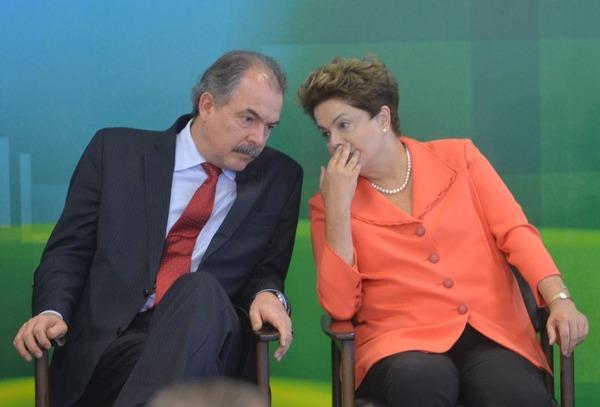 Dilma e Mercadante em maio- ABR (1)
