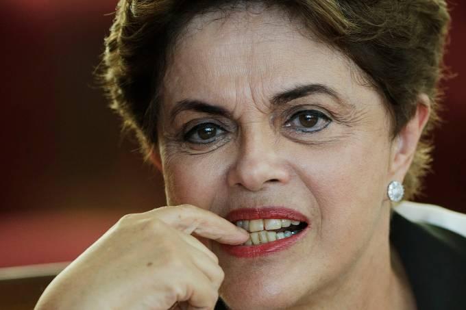 Presidente cassada Dilma Rousseff em Brasília – 02/07/2014
