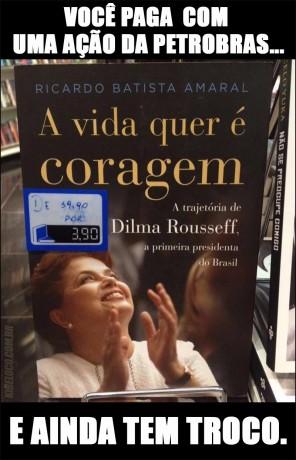 Dilma Rousseff livro kibe