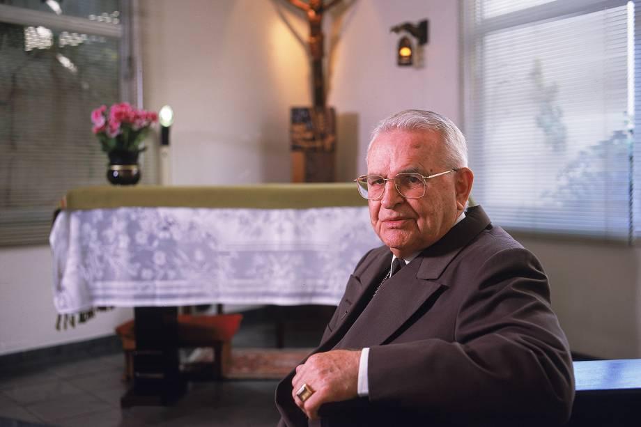 Dom Paulo Evaristo Arns, Cardeal Arcebispo Emérito de São Paulo - 26/08/2008