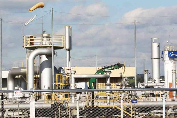 Estacao de compressao de gas natural de Sao Carlos