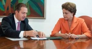 Campos e Dilma: toma, não quero mais