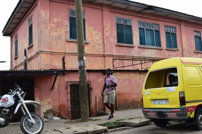 Embaixada falsa dos EUA na cidade de Acra, em Gana