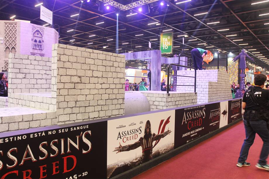 Stand de Assassins Creed na Comic Con Experience - 01/12/2016
