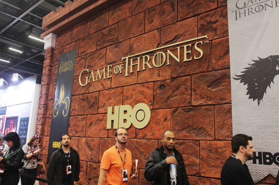 Stand da HBO na Comic Con Experience - 01/12/2016