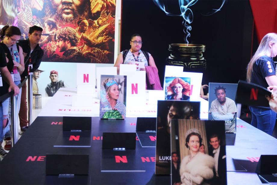Stand da Netflix na Comic Con Experience - 01/12/2016