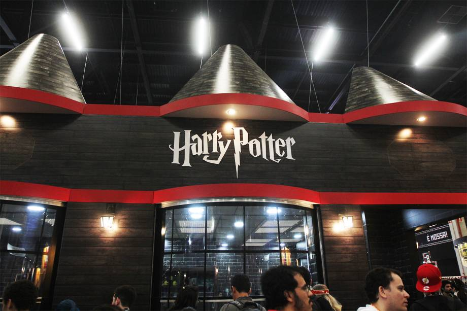 Stand de Harry Potter na Comic Con Experience - 01/12/2016