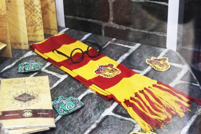 Stand de Harry Potter na Comic Con Experience