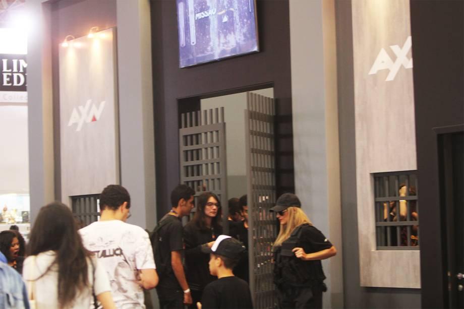 Stand da AXN na Comic Con Experience - 01/12/2016