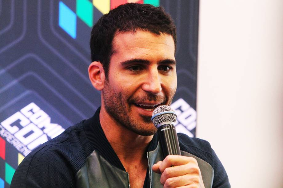 O ator Miguel Ángel Silvestre, da série ´Sense8´,  concede entrevista coletiva durante o quarto dia da Comic Con Experience - 04/12/2016