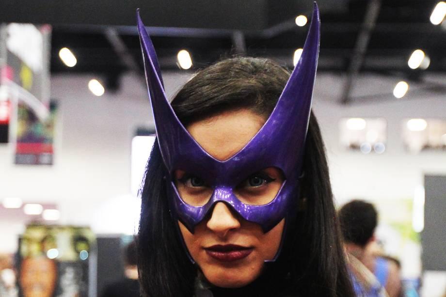 Cosplay posa para foto durante o terceiro dia da Comic Con Experience, em São Paulo (SP) - 03/12/2016