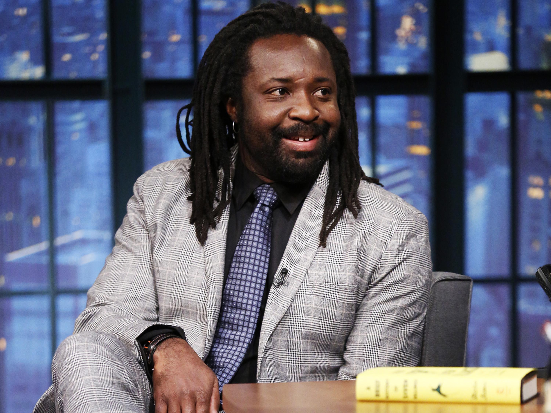 O escritor Marlon James (Crédito: Lloyd Bishop/NBC/NBCU/Getty Images)