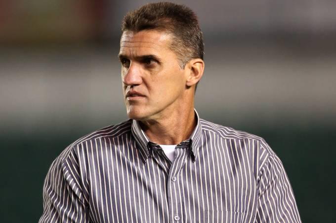 O treinador Wagner Mancini